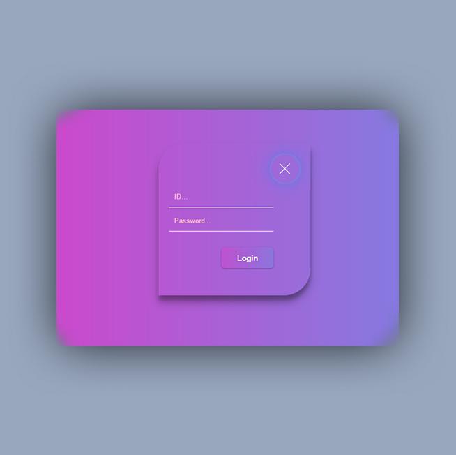 Material design ( login )